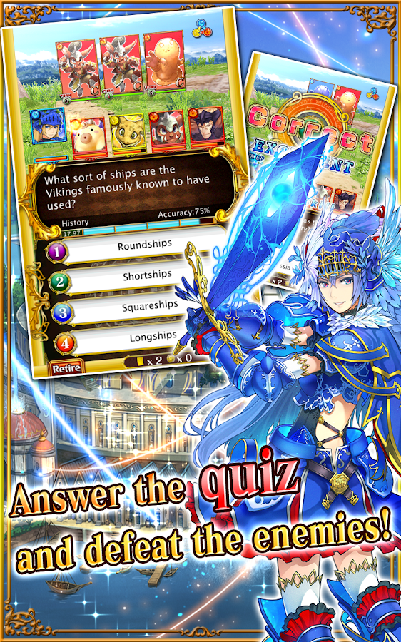 Quiz RPG: World of Mystic Wiz - screenshot
