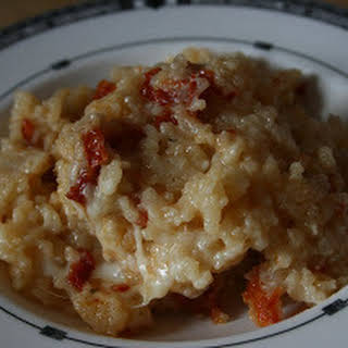 Sundried Tomato CrockPot Risotto.