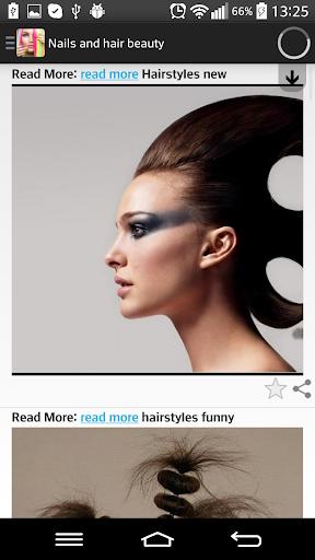 Nails and hair beauty