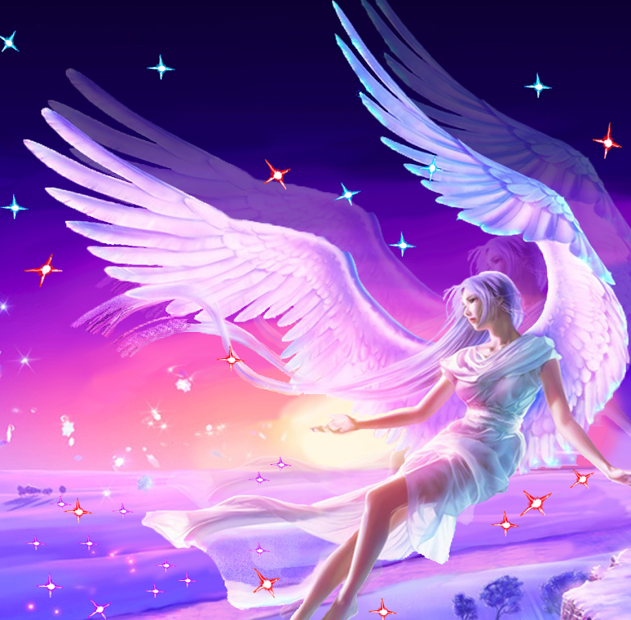 angel fairy 3d live wallpaper android apps on google play
