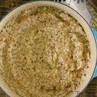 Creamy Parmesan Risotto.