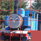 Thomas train puzzle for kids