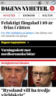 News and magazines Sweden- screenshot thumbnail