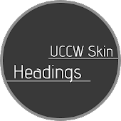 Headings - UCCW Skin