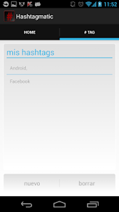 Hashtagmatic- screenshot thumbnail