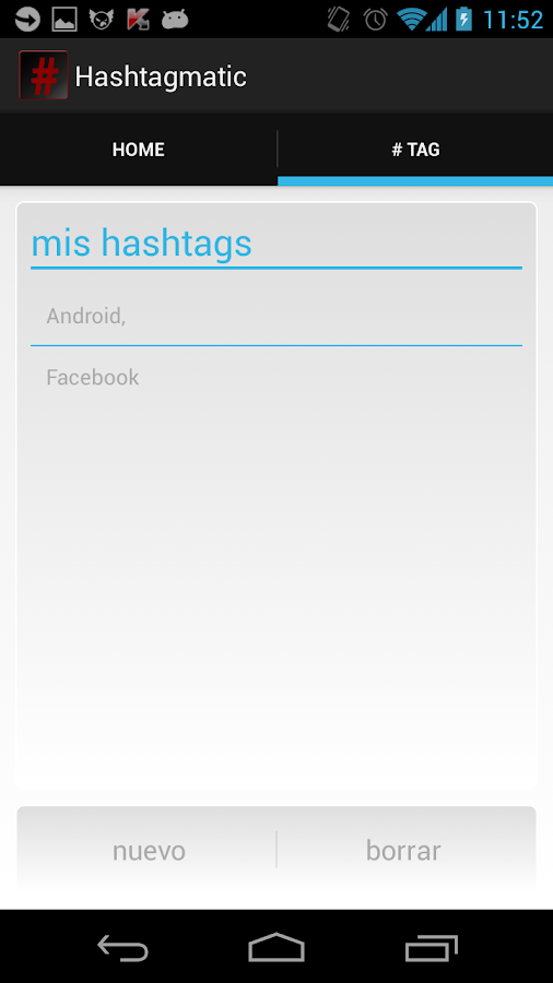 Hashtagmatic- screenshot