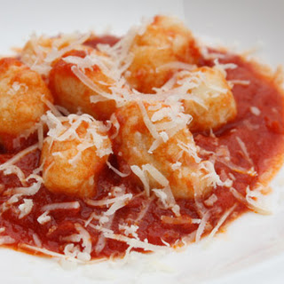Ricotta Gnocchetti with Tomato-Butter Sauce