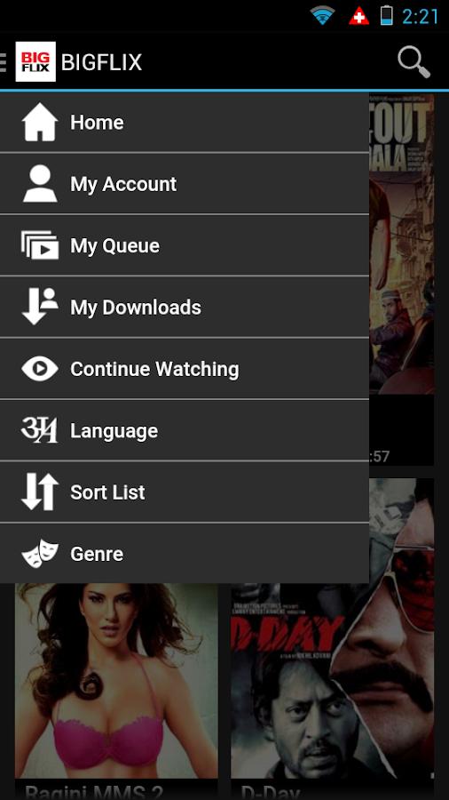 BIGFLIX - screenshot