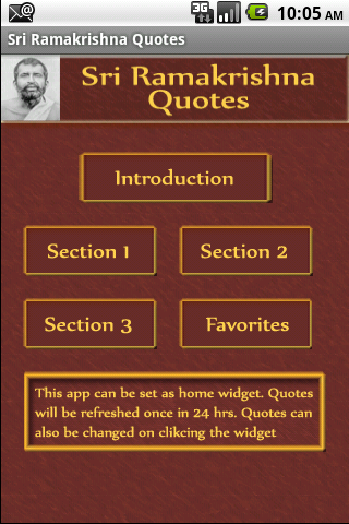 Sri Ramakrishna Quotes - screenshot