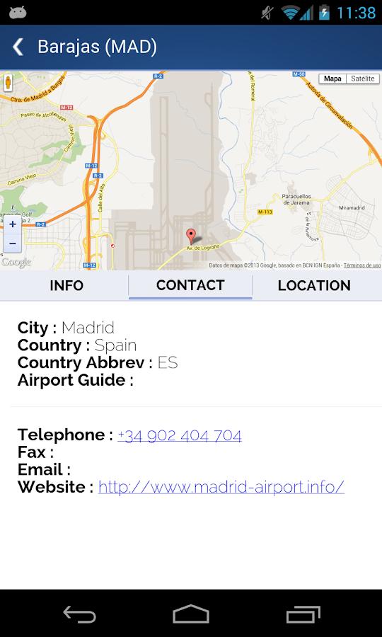 World Airport Codes- screenshot
