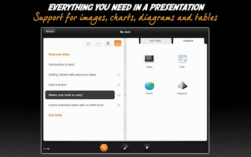 deck Presentations- screenshot