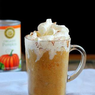 Pumpkin Pie Frappuccinos