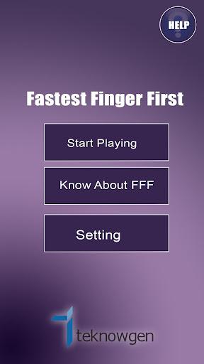 FFF Fastest Finger First