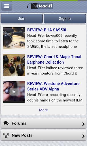 Head-Fi Unofficial App
