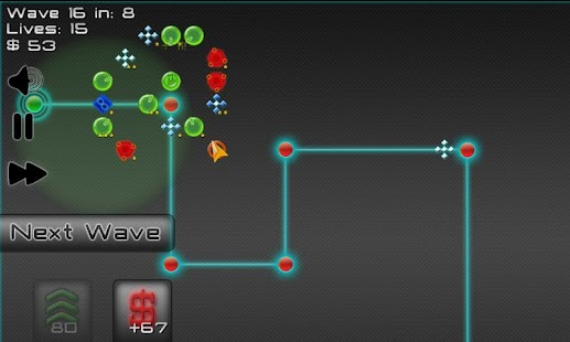 Robot Defense: Maze it!- screenshot thumbnail