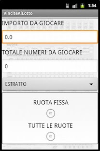 Il gioco del LOTTO - screenshot thumbnail
