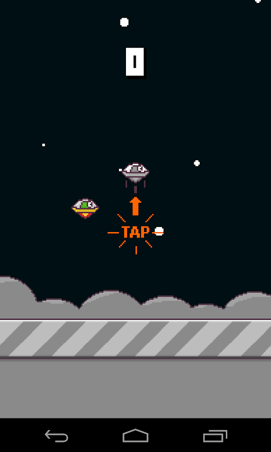 Flying UFO - screenshot