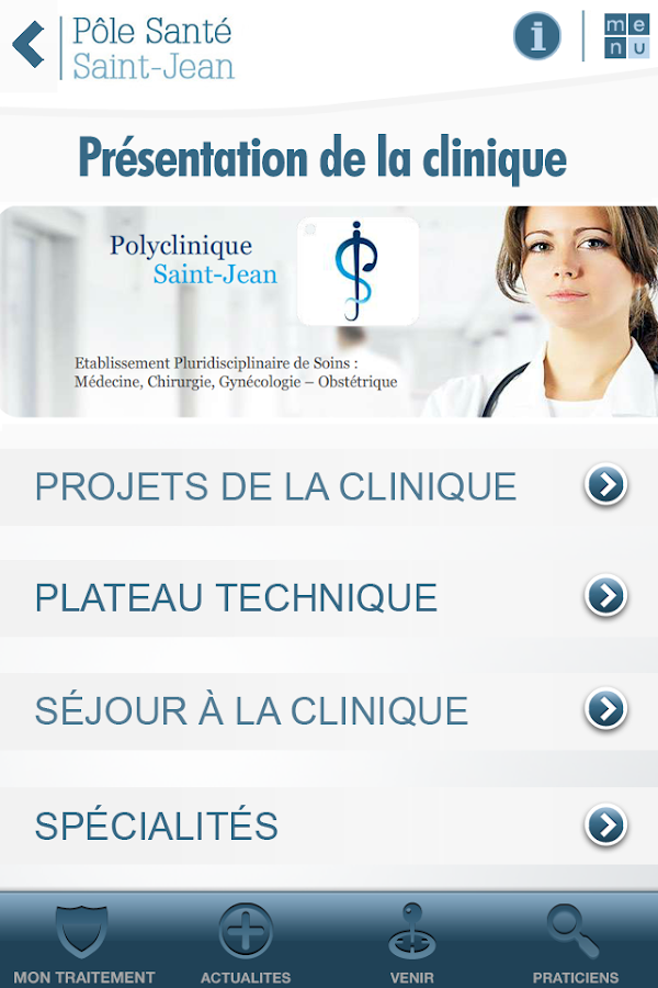 Polyclinique Saint-Jean- screenshot