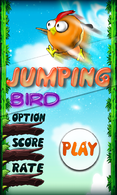Jumping Bird - screenshot