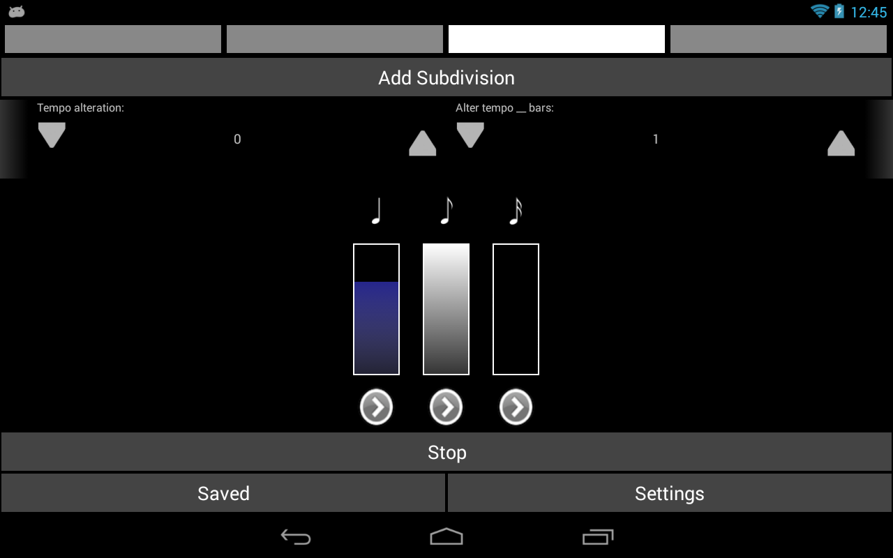 Metronomics Metronome- screenshot