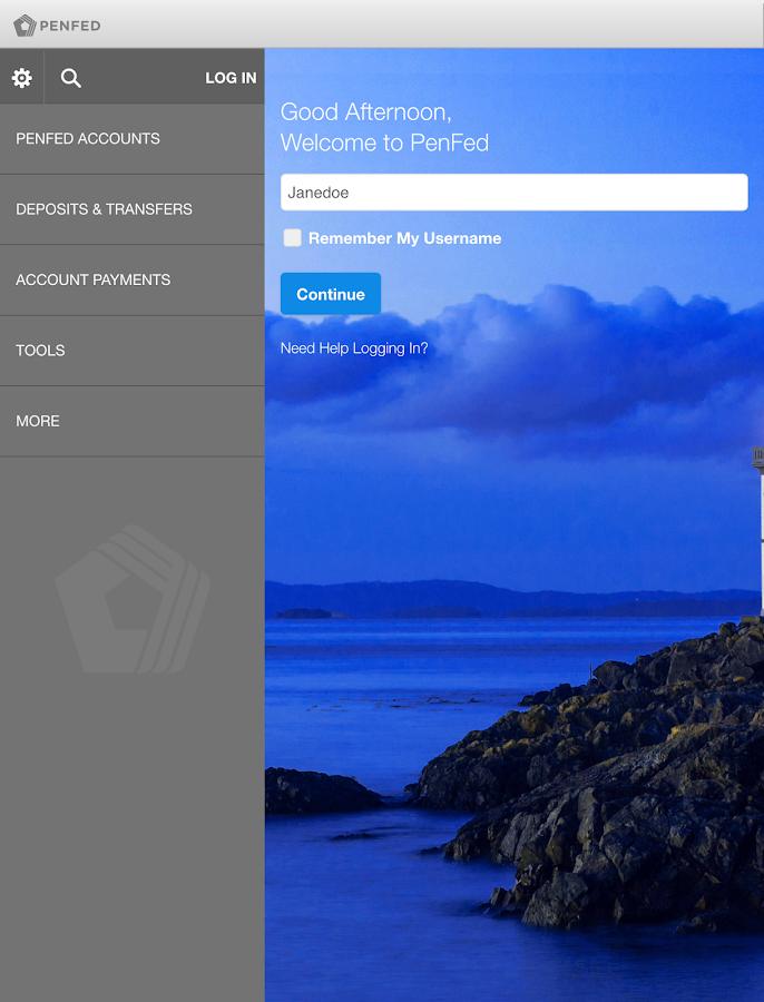 PenFed - screenshot