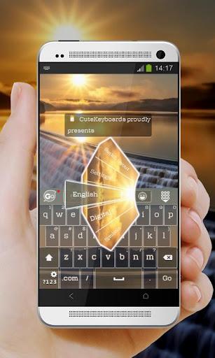 秋天的陽光 GO Keyboard Theme