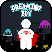 Dreaming Boy go launcher theme