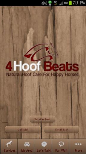 4HoofBeats Farrier App