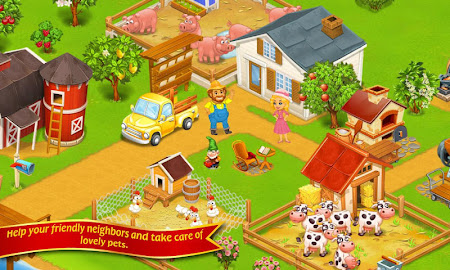 Farm Town:Happy City Day Story 1.64 screenshot 206212