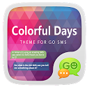 GO SMS PRO COLORFULDAYS THEME