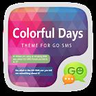 GO SMS PRO COLORFULDAYS THEME icon