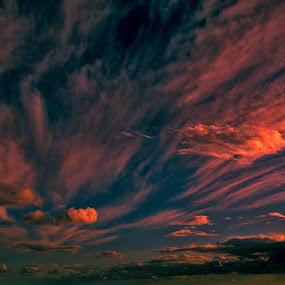 by Miguel Pires - Landscapes Cloud Formations ( noordhoek, south africa, noordhoekchallenge, Earth, Light, Landscapes, Views )