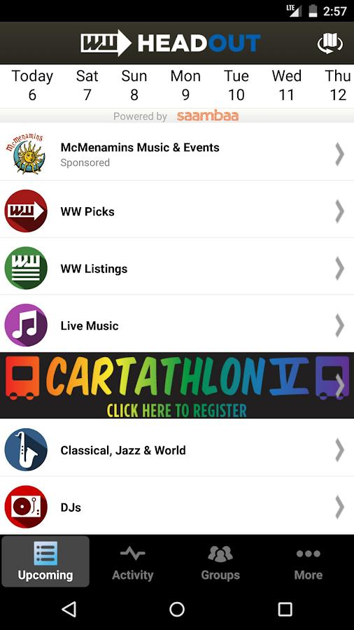 HeadOut - Portland Events - screenshot