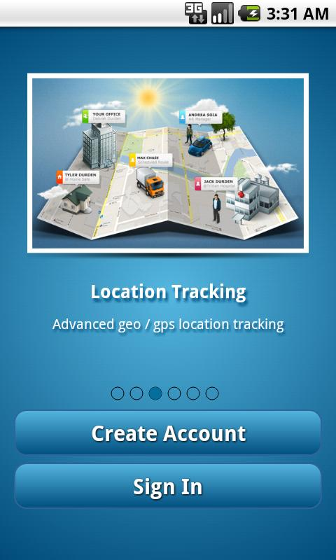 GPS Tracker Angel Tracking PRO- screenshot