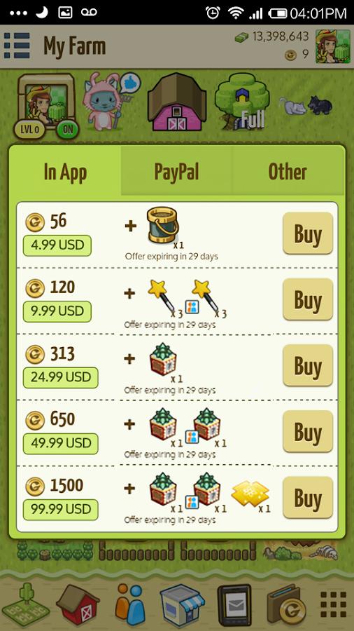 Big Barn World Social Farming - screenshot