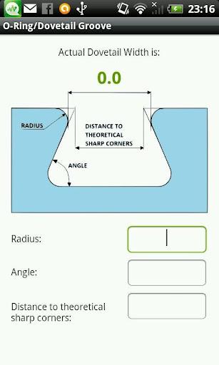 O形環 燕尾槽計算