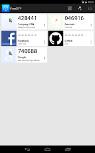 FreeOTP Authenticator- screenshot thumbnail