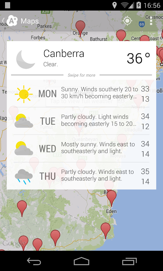 Aus Weather Australia - screenshot