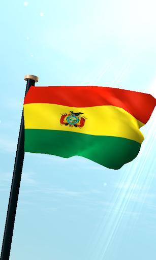 玻利維亞旗3D免費動態桌布