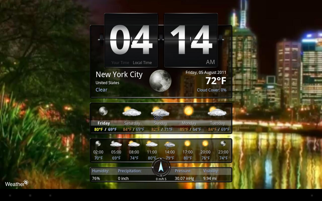 Weather+ Free - screenshot