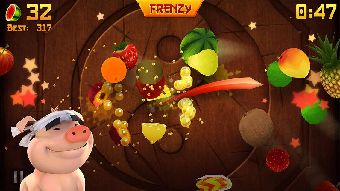 Fruit Ninja Free - screenshot