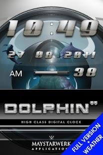 dolphin clock weather widget - screenshot thumbnail