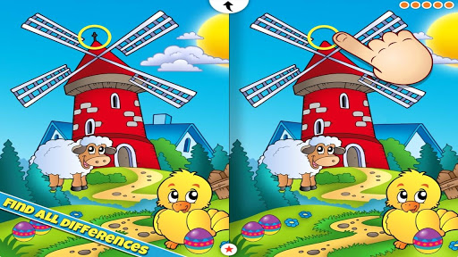 Easter App Find the Difference