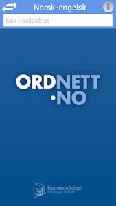 Ordnett - Engelsk stor ordbok v1.0.11