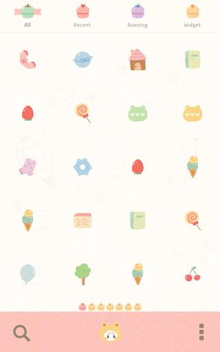 玩個人化App|petit honey happy dodol theme免費|APP試玩