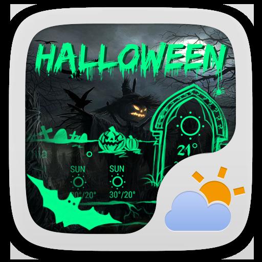 Halloween Theme GO Weather EX 天氣 App LOGO-硬是要APP
