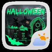 Halloween Theme GO Weather EX