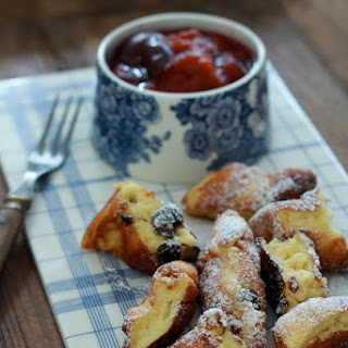 Kaiserschmarren or Imperial crepes.