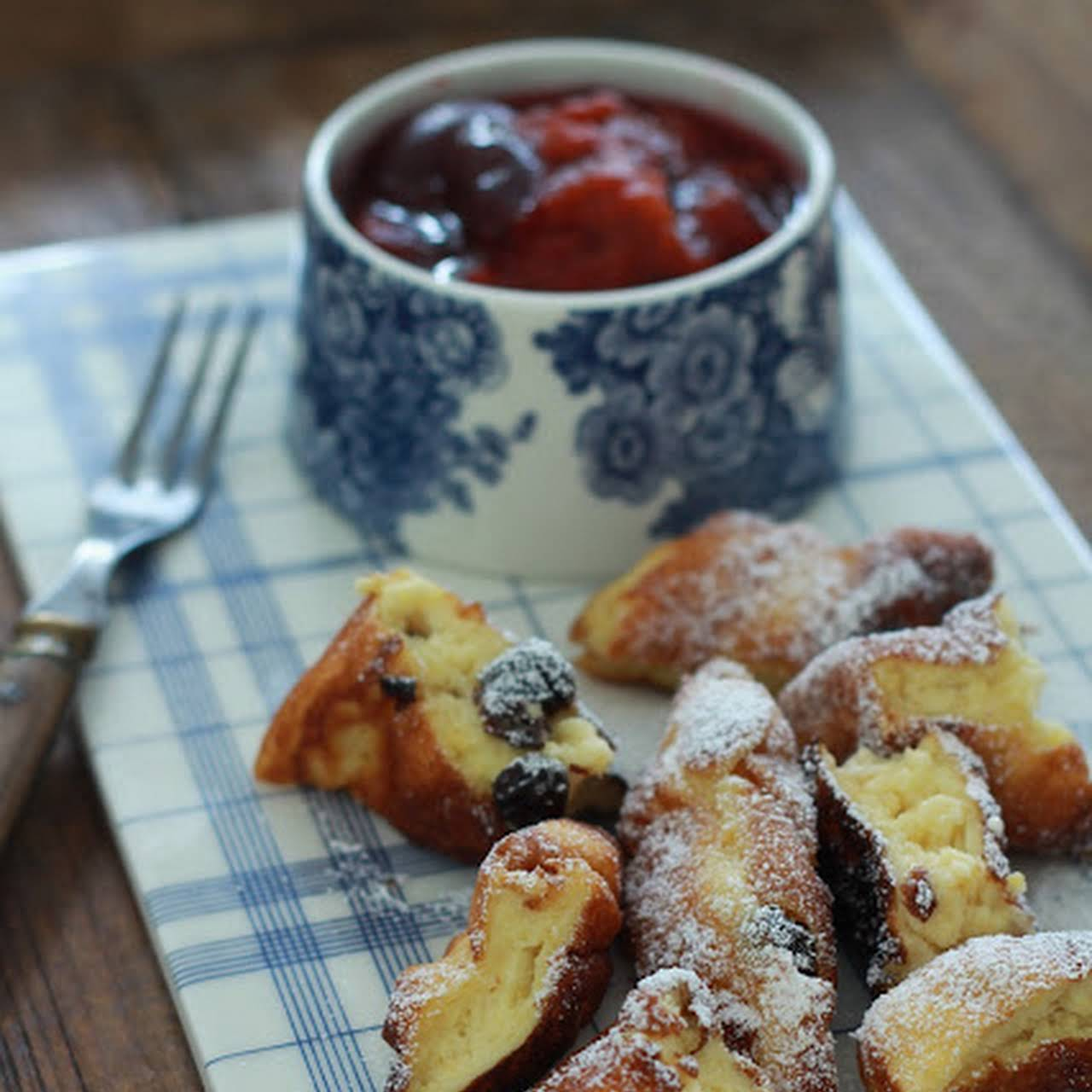 Kaiserschmarren or Imperial crepes