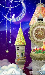 magical clock tower LWallpaper - screenshot thumbnail